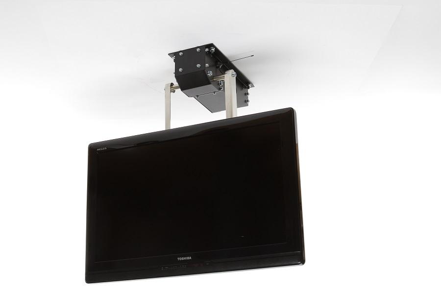 Elektrische TV Halterung für die Montage an die Decke | Zaronews