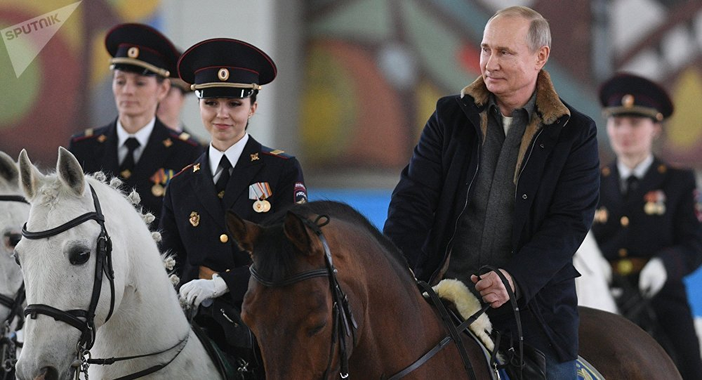 Putin Reitet
